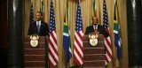 Barack Obama was speaking in the executive capital, Pretoria, after talks with President Jacob Zuma