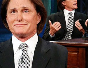 Bruce Jenner turned an interview with Jimmy Fallon on Tuesday night into a point scoring exercise