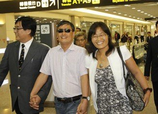 Chen Guangcheng has arrived in Taiwan for an 18-day trip that is likely to anger Beijing