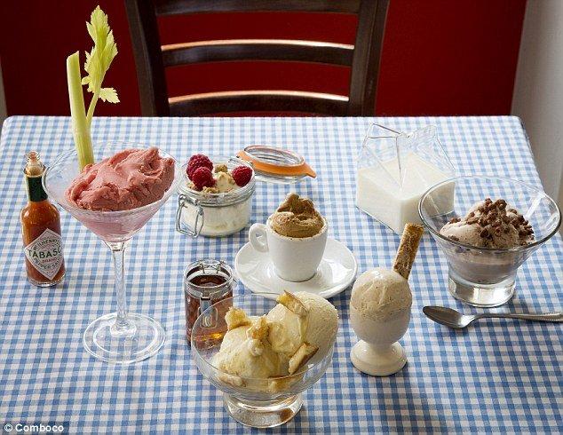 Comboco launched Breakfast Gelato menu photo