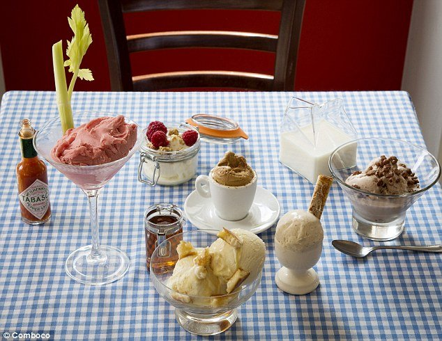 Comboco launched Breakfast Gelato menu photo