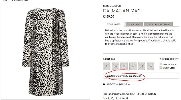 Dalmatian-print Hobbs coat worn by Kate Middleton to launch Royal Princess cruise ship sold out in minutes