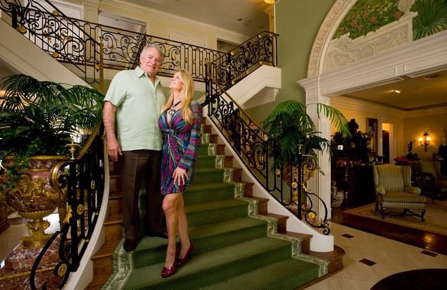 David Siegel and his wife Jackie were the subjects of the recent documentary The Queen of Versailles about their ongoing quest to build the largest house in America photo