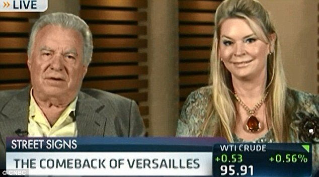 David and Jackie Siegel the owners of Americas Palace Of Versailles have announced that their mansion will finally be completed in 2015 photo