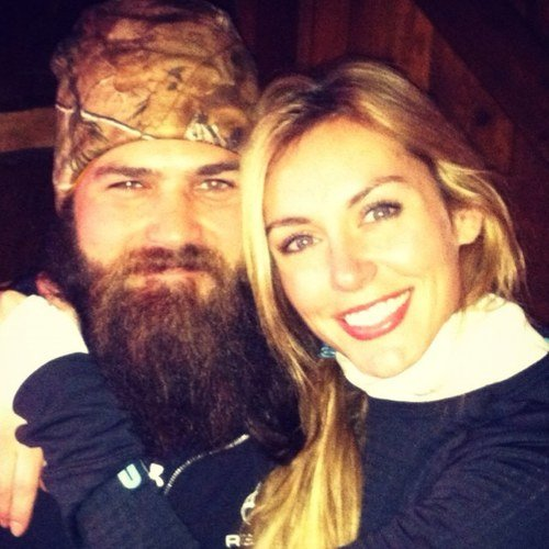 Duck Dynasty's Jep and Jessica Robertson photo