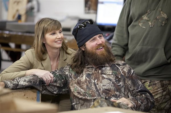 Duck Dynasty's Missy and Jase Robertson photo