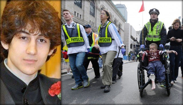 Dzhokhar Tsarnaev, the surviving Boston Marathon bombing suspect, has been formally charged with killing four people and using a weapon of mass destruction