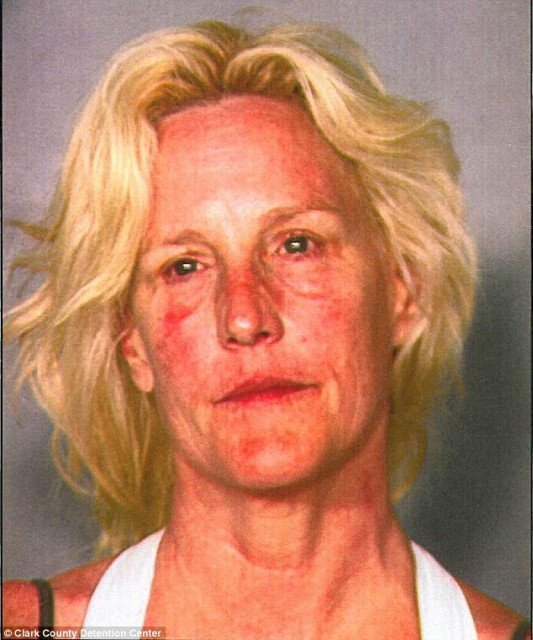 Erin Brockovich was arrested last Friday for drunken boating as its revealed that her blood alcohol content was twice the legal limit 533x640 photo
