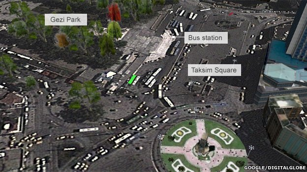 How Gezi Park and Taksim Square look now