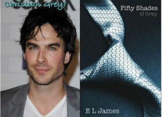 Ian Somerhalder is top choice to play Christian Grey in Fifty Shades screen adaptation