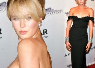 Ireland Baldwin shows an incredible resemblance to her mother Kim Basinger as she attended the amfAR Inspiration Gala in New York