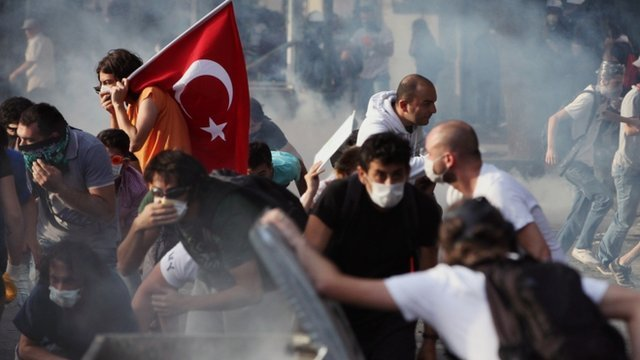 Istanbul protests June 2013