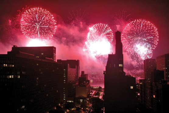 It wouldn't be the Fourth of July in New York City without the Annual Macy's Fireworks
