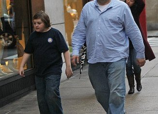 James Gandolfini was on a boys trip with his teenage son Michael when he died of a suspected heart attack in Italy