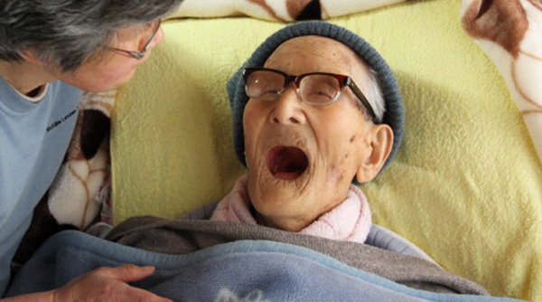 Jiroemon Kimura from Japan was recognized as the world's oldest living person, and the oldest man recorded in history at 116