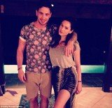 Kelly Brook and Danny Cipriani on holiday in Tobago