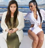 Kim Kardashian gave birth to her first child on June 15, a month ahead of her due date