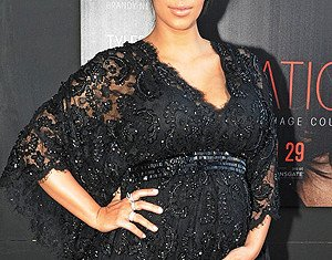 Kim Kardashian had a natural birth after having contractions late Friday evening