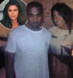 Leyla Ghobadi claims rapper Kanye West cheated on pregnant girlfriend Kim Kardashian after t
