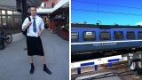Male train drivers in Sweden have circumvented a ban on shorts by wearing skirts to work in hot weather