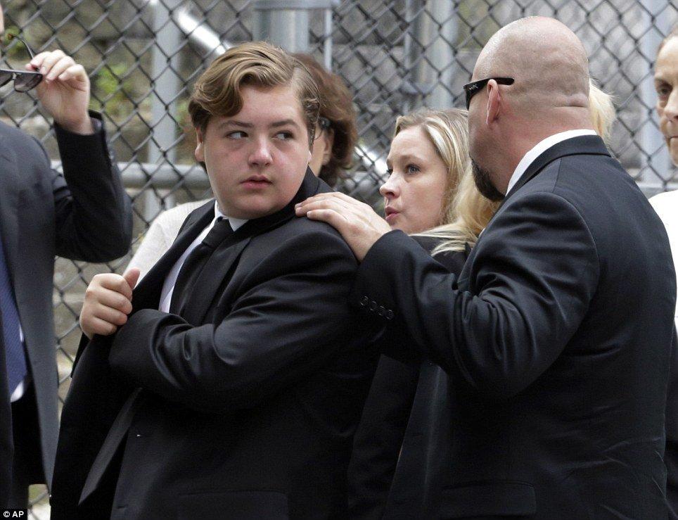James Gandolfini funeral: Michael Gandolfini joins Sopranos