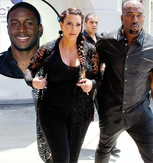 Myla Sinanaj accuses Kim Kardashian of cheating with Kanye West while dating Reggie Bush photo