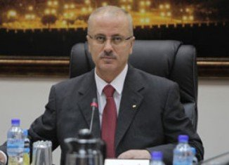 Newly appointed Palestinian Prime Minister Rami Hamdallah has offered his resignation to President Mahmoud Abbas