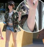 Paris Jackson was seen six weeks ago with a crop of scars on her forearm