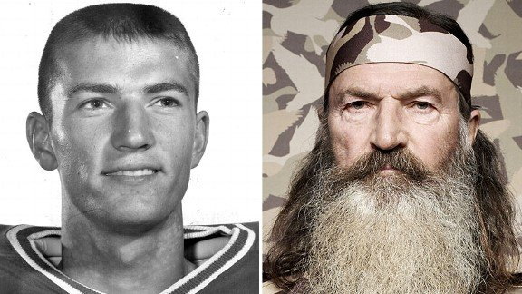 Phil Robertson was ahead of Terry Bradshaw on Louisiana Tech's depth chart but gave up football because the game and any future in it interfered with his heart's dearest passion duck-hunting season