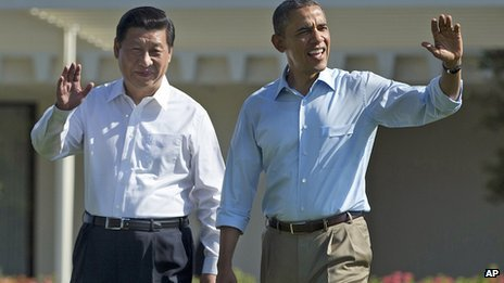 President Barack Obama and Chinese leader Xi Jinping have ended a two day summit in California photo