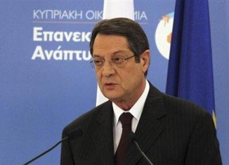 President Nicos Anastasiades has urged eurozone leaders to revise the terms of Cyprus' bank bailout, in a highly critical letter