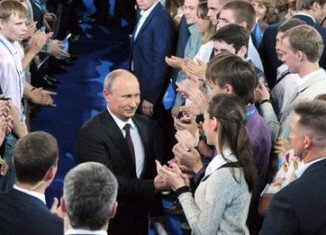 President Vladimir Putin has taken the helm of a new political movement called the Popular Front