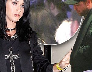 Robert Pattinson and Katy Perry spent time together as they attended a Bjork concert at the Hollywood Palladium in Los Angeles