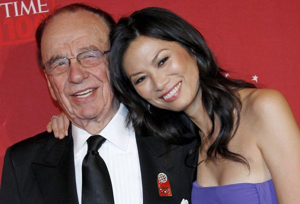 Rupert Murdoch and Wendi Deng married on June 25 1999 just 17 days after his divorce from Anna Maria Torv photo