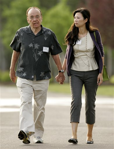 Rupert Murdoch has filed for divorce from Wendi Deng because their marriage has irretrievably broken down