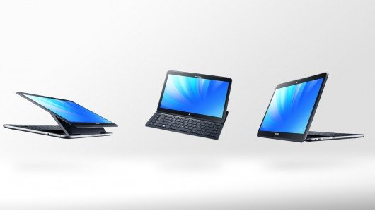 Samsung has unveiled Ativ Q, a tablet that can switch between the Windows 8 and Android operating systems