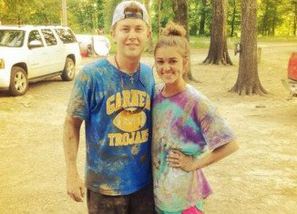 Scotty McCreery played Sadie Robertson's recent birthday party after spending an afternoon mudding with John Luke Robertson and enjoying Miss Kay's home cooking