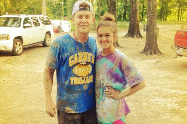 Scotty McCreery played Sadie Robertson's recent birthday party after spending an afternoon mudding with John Luke Robertson and enjoying Miss Kay's home cooking photo