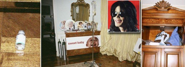 Shocking images which further detail Michael Jacksons tragic spiral into prescription pill dependency have been revealed as his family pursue a lawsuit against his concert promoters 640x232 photo