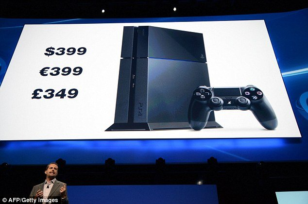 Sony has announced its forthcoming PlayStation 4 will cost $399, which is $100 less than the competing Xbox One