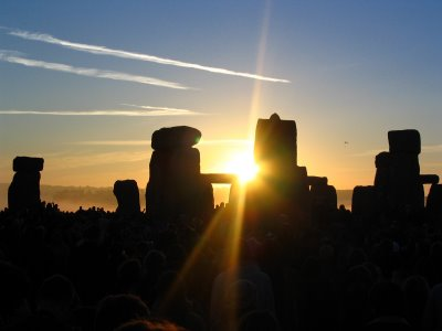 Stonehenge is believed to have been used as an important religious site by early Britons 4000 years ago photo
