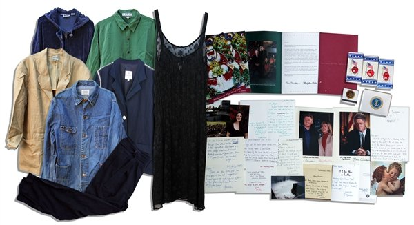 The 32 item collection was submitted by Monica Lewinsky's one time lover Andy Bleiler to special prosecutor Kenneth Starr photo