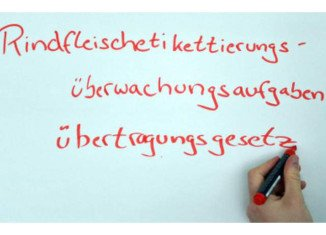 The German language has lost its longest word following a change in the law to conform with EU regulations