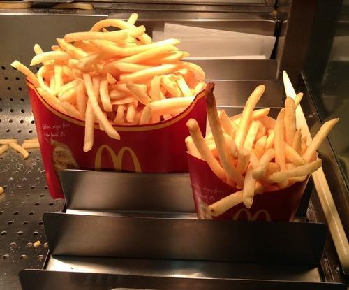 The Mega Potato is almost a pound of McDonald's famous fries, contains 1,142 calories and costs $4.9