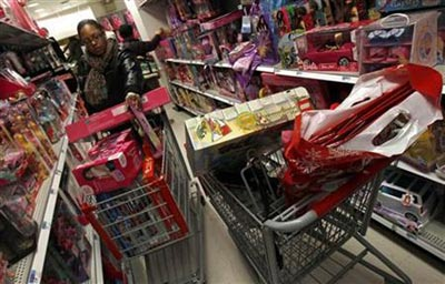 The US consumer spending fell 0.2 percent in April 2013