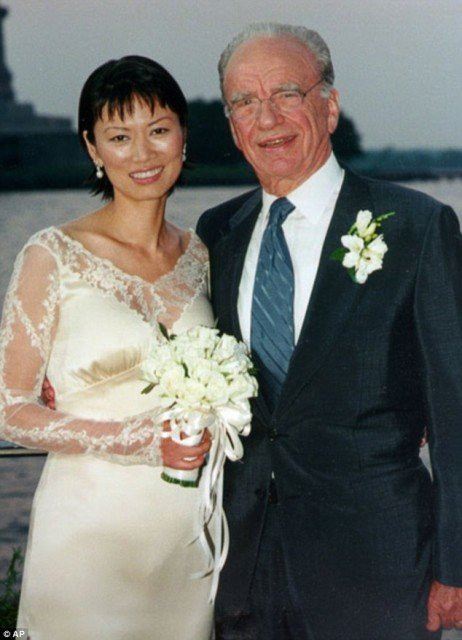 The reason Rupert Murdoch has filed for divorce from Wendi Deng is reported to be jaw dropping 462x640 photo