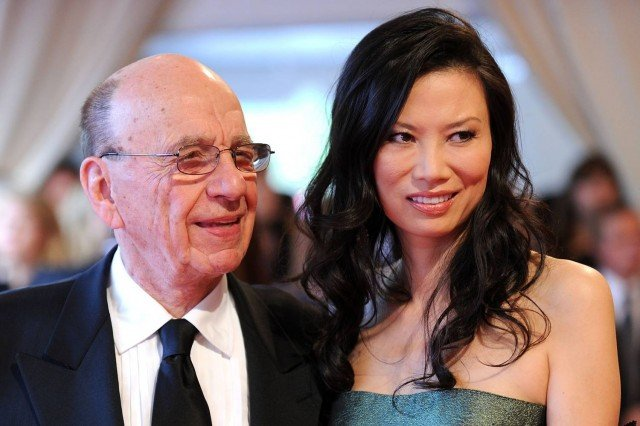 Wendi Deng Murdoch is the wife and soon to be the ex wife of Rupert Murdoch 640x426 photo