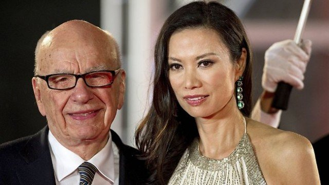 With a net worth of 11.2 billion Rupert Murdochs divorce from Wendi Deng could be the most expensive ever 640x360 photo