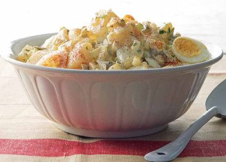 A good old fashioned, down home potato salad recipe that brings back memories of 4th of July picnics in the park and family gatherings