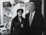 A never-before-heard tape of Monica Lewinsky asking for an illicit meeting with President Bill Clinton has surfaced